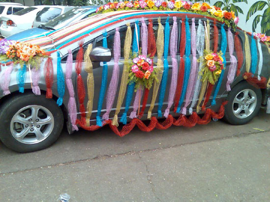 Best ideas about Birthday Car Decorations . Save or Pin Wedding Car Decorations Ideas for life and style Now.