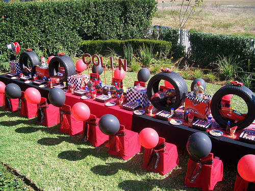Best ideas about Birthday Car Decorations . Save or Pin Yvonne Byatt s Family Fun DISNEY CARS BIRTHDAY PARTY Now.