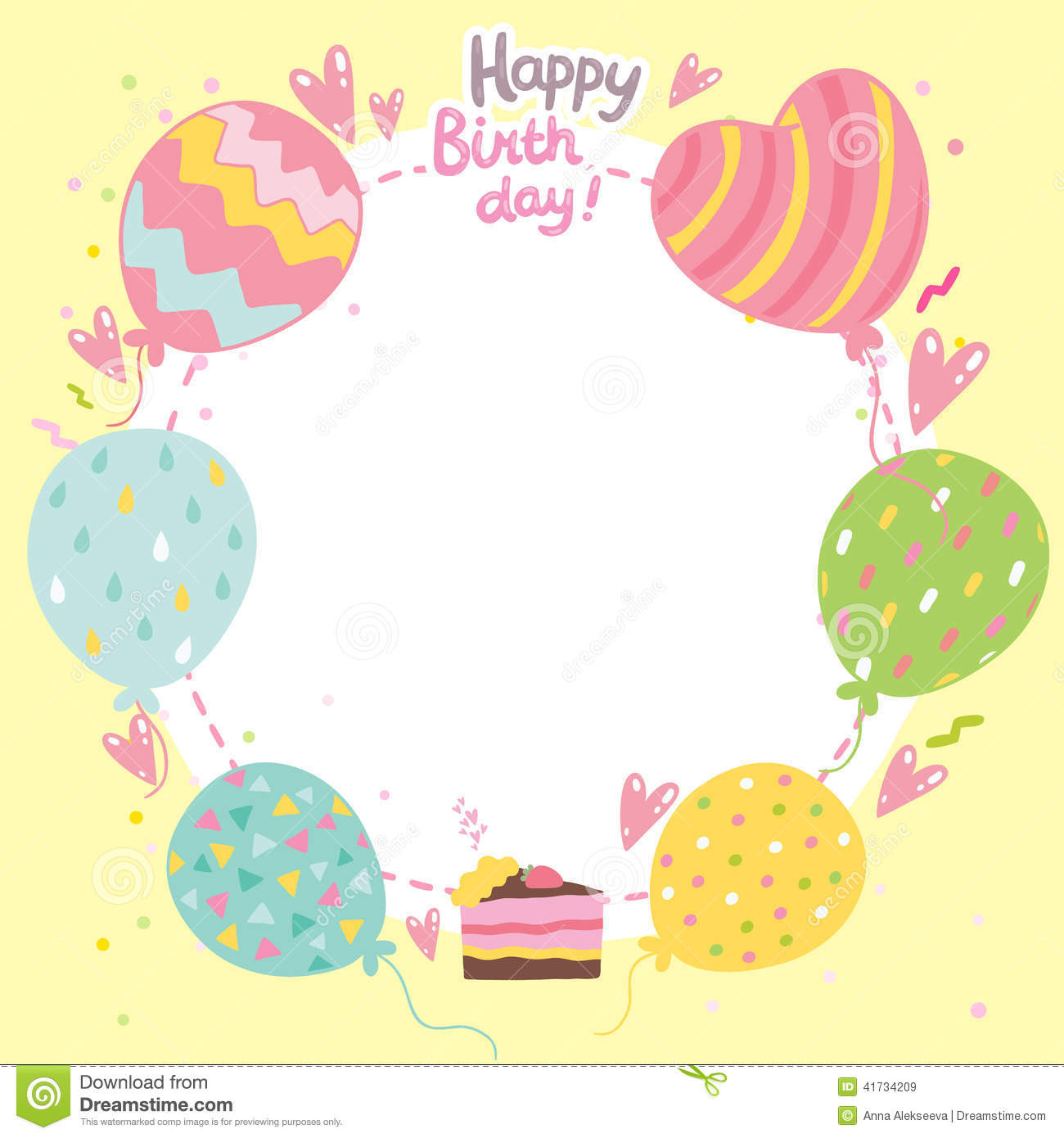 Best ideas about Birthday Card Template . Save or Pin Birthday Card Template Now.