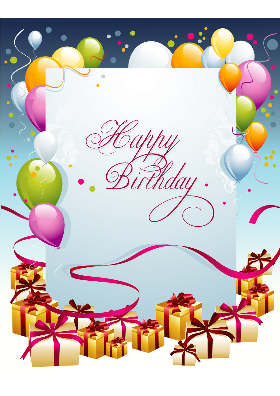 Best ideas about Birthday Card Template . Save or Pin 40 FREE Birthday Card Templates Template Lab Now.
