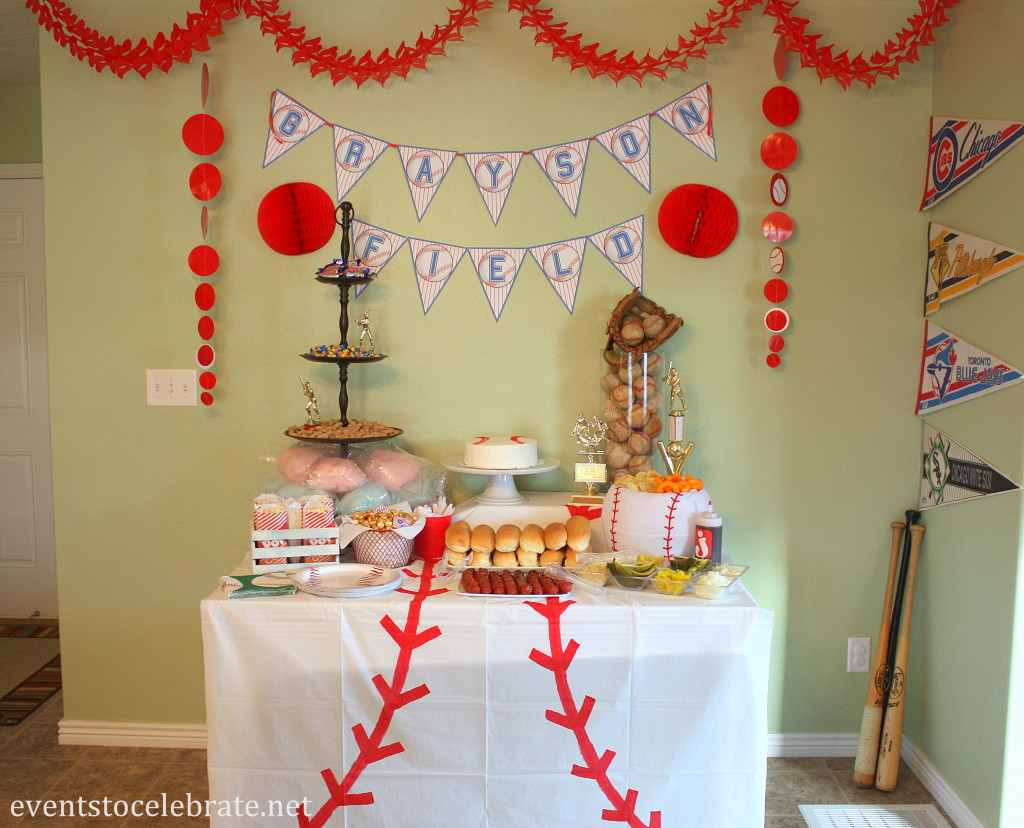 Best ideas about Birthday Decorating Ideas . Save or Pin Baseball Birthday Party Ideas events to CELEBRATE Now.