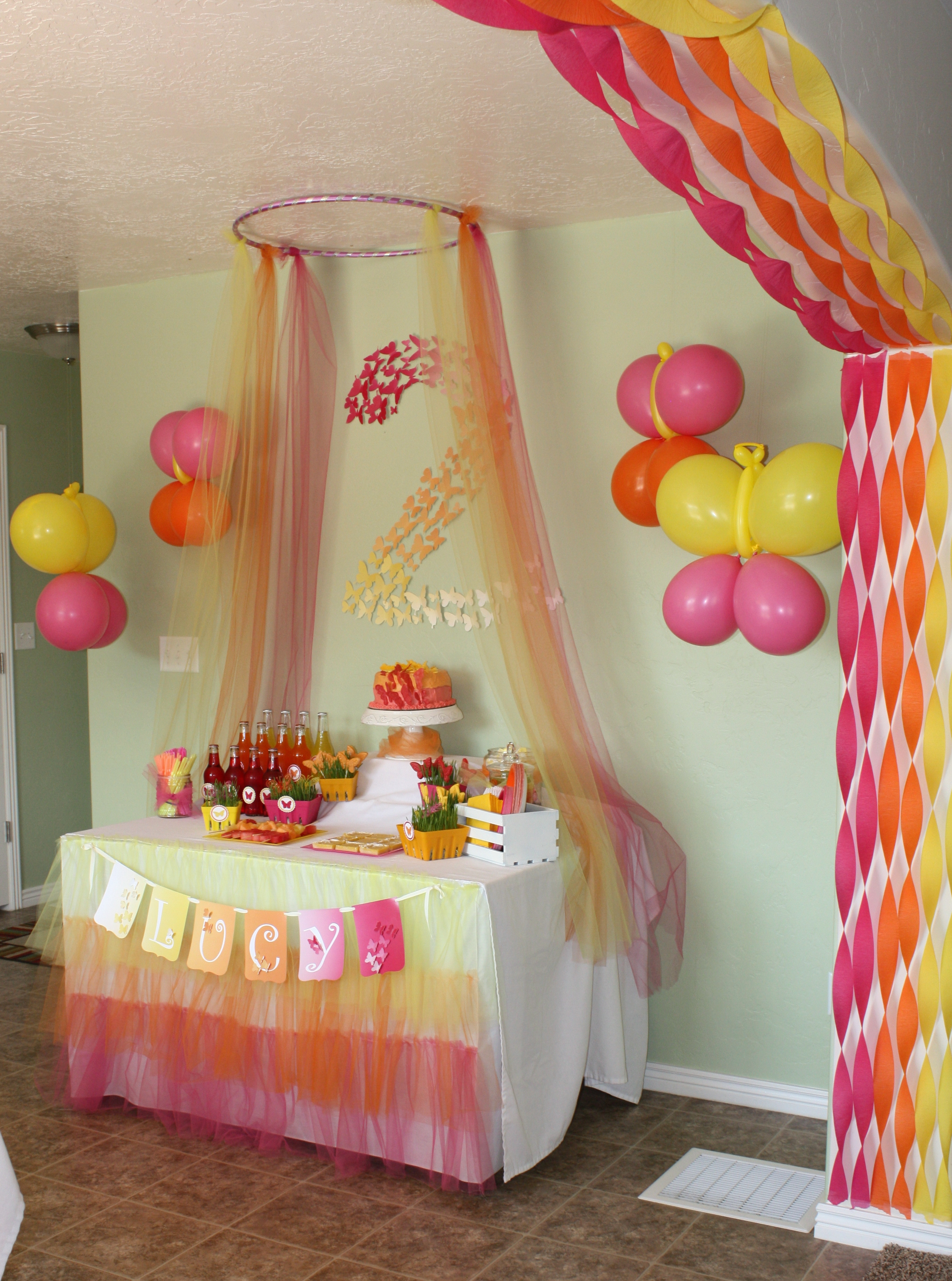 Best ideas about Birthday Decorating Ideas . Save or Pin Birthday Party Decoration Now.
