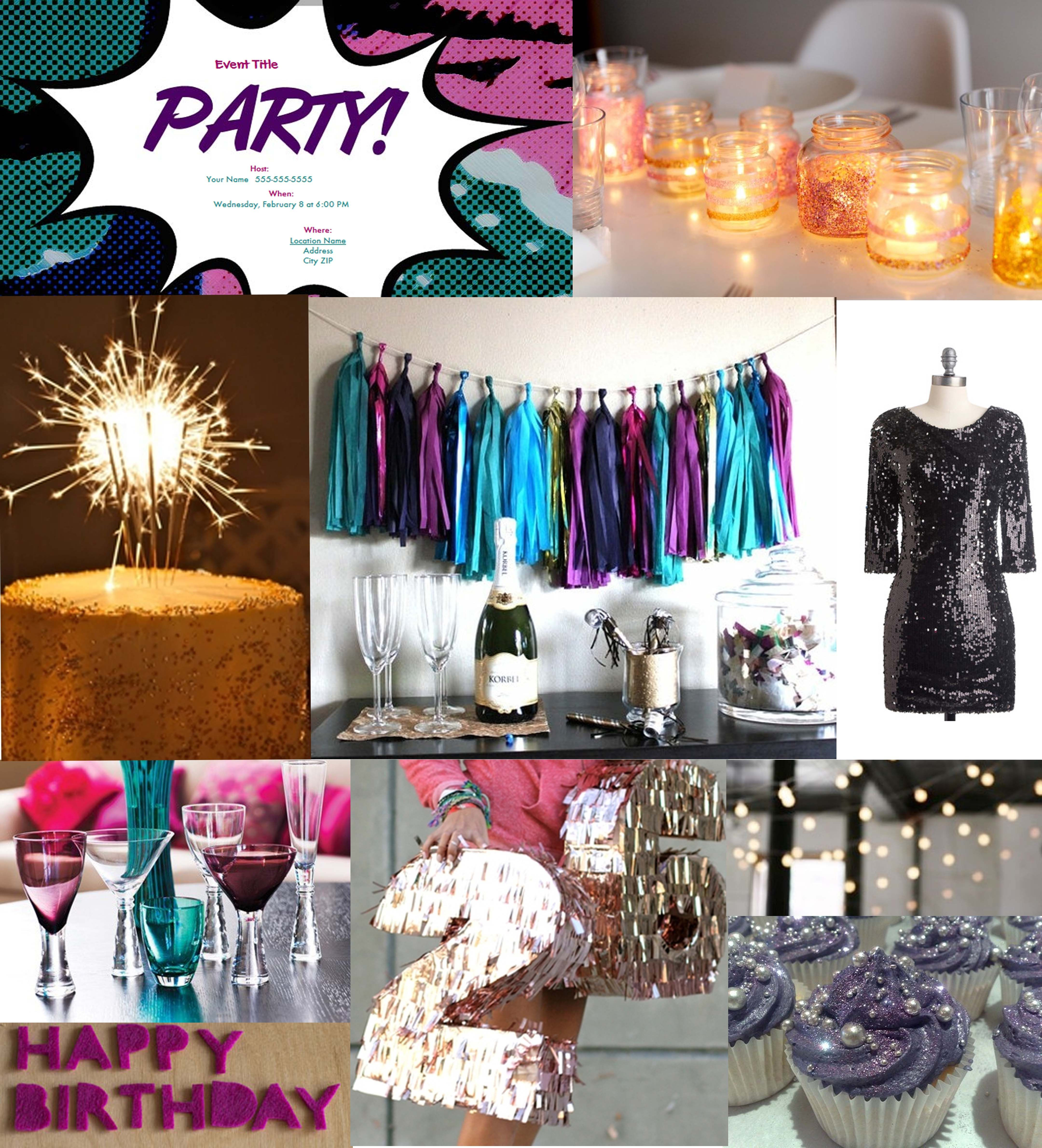 Birthday Decorations For Adults  fun theme party ideas for adults