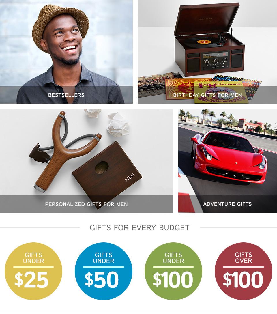 Birthday Gift Ideas For Men  Gifts For Men