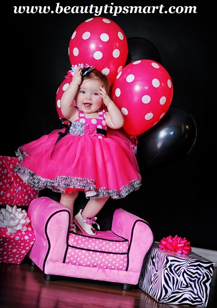 Birthday Gift Ideas For One Year Old Baby Girl  Birthday Dresses Collection For Baby Girl 2018 India 1