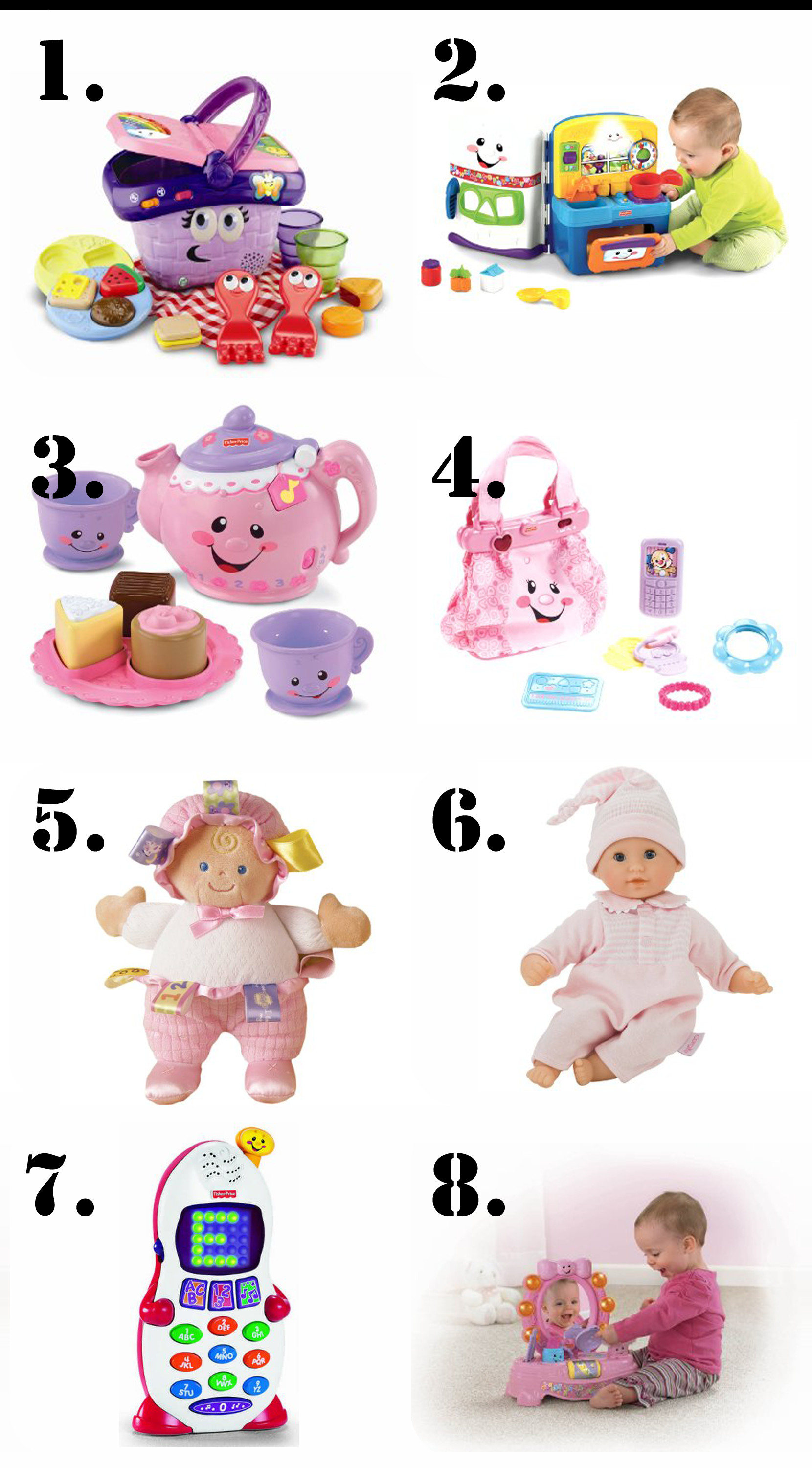 Birthday Gift Ideas For One Year Old Baby Girl  The Ultimate List of Gift Ideas for a 1 Year Old Girl