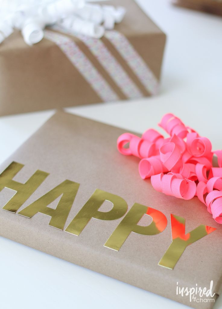 Birthday Gift Wrapping Ideas  17 best ideas about Birthday Gift Wrapping on Pinterest