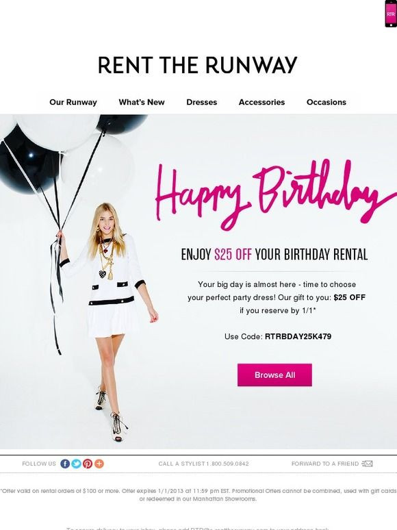 Birthday Gifts By Mail  Best 257 Email Auto Birthday ideas on Pinterest