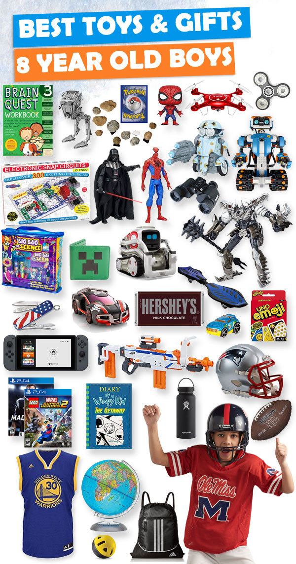 10 Best Toys And Gifts For 8 Year Old Boys 2018 Birthday
