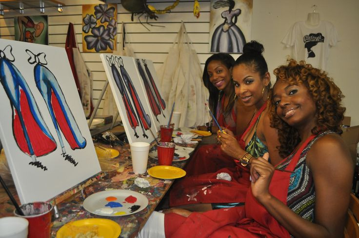 Birthday Ideas In Atlanta For Adults  82 best Adults Art Birthday Parties images on Pinterest