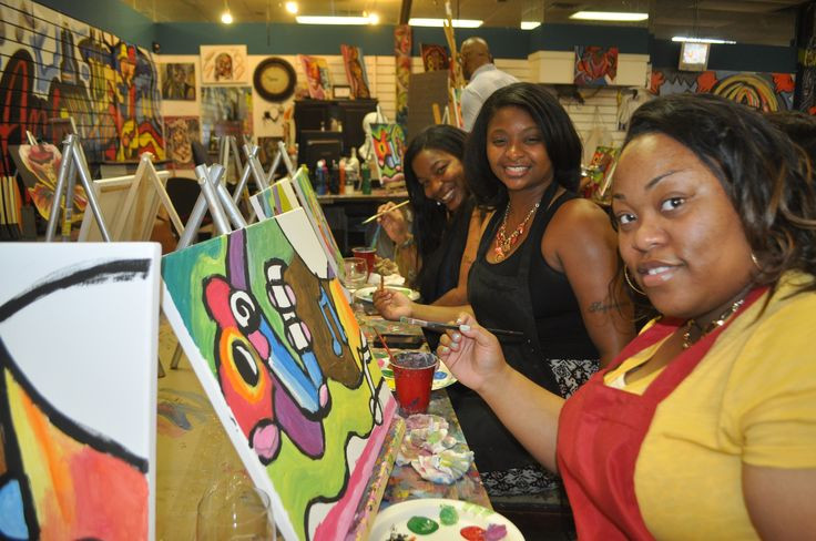 Birthday Ideas In Atlanta For Adults  82 best images about Adults Art Birthday Parties on