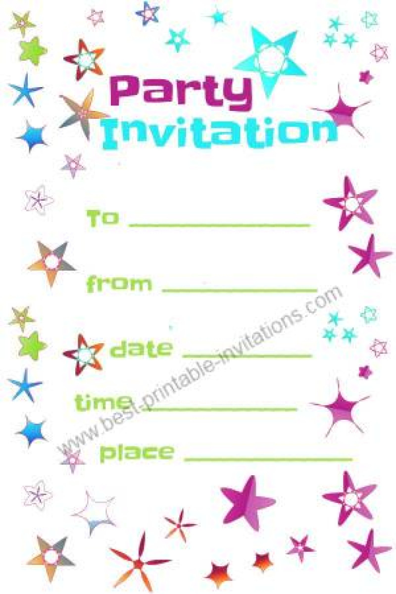 Birthday Invitations Template  Free Party Invitation To Print Out – orderecigsjuicefo