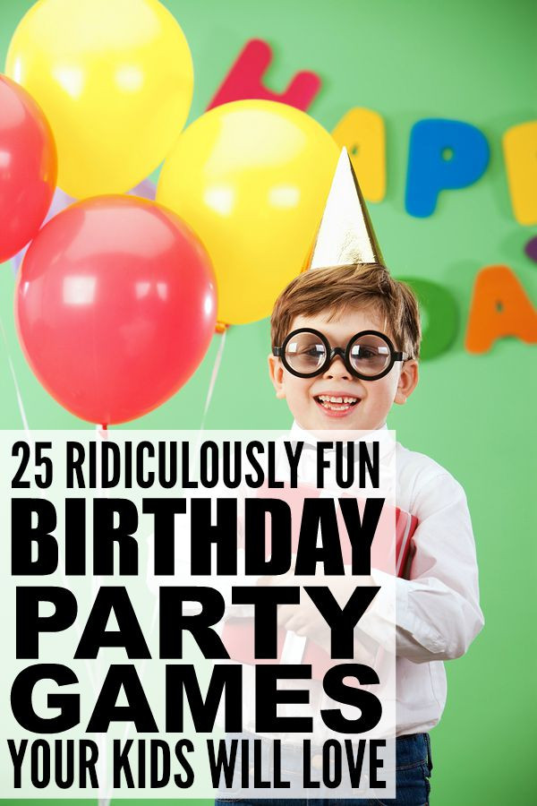 Birthday Party Activities For Toddlers  25 ridiculously fun birthday party games for kids