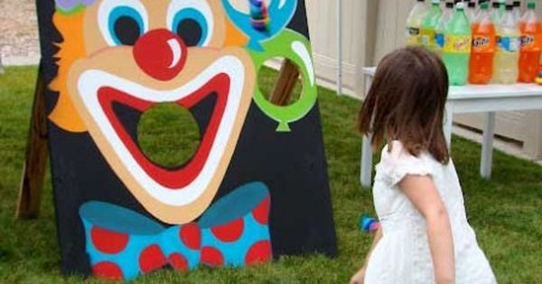Birthday Party Activities For Toddlers  Step Right Up How to Throw a Circus Themed Party