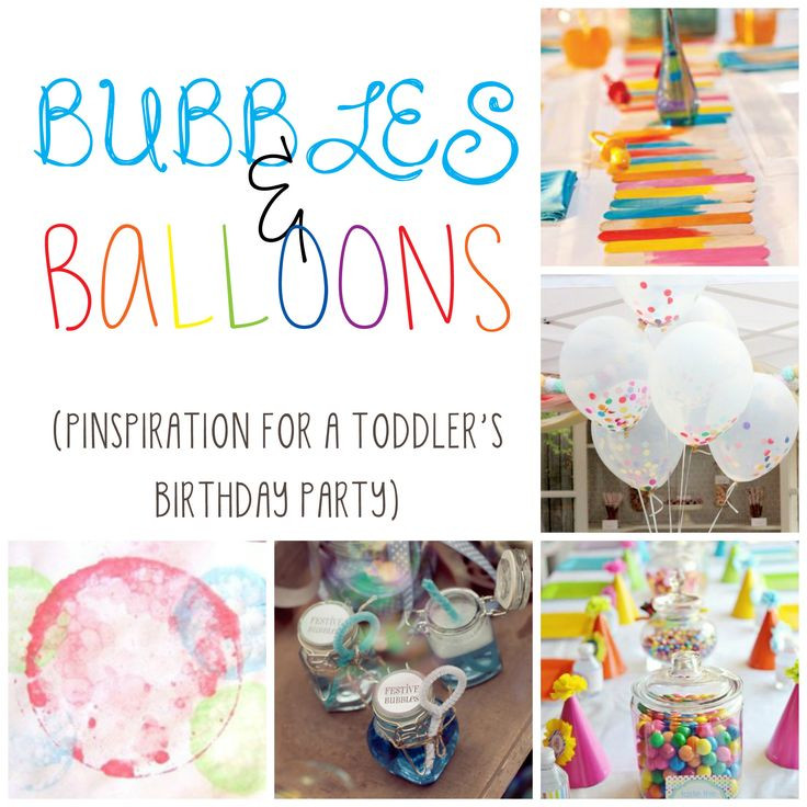 Birthday Party Activities For Toddlers  Bubbles galore A toddler s birthday party