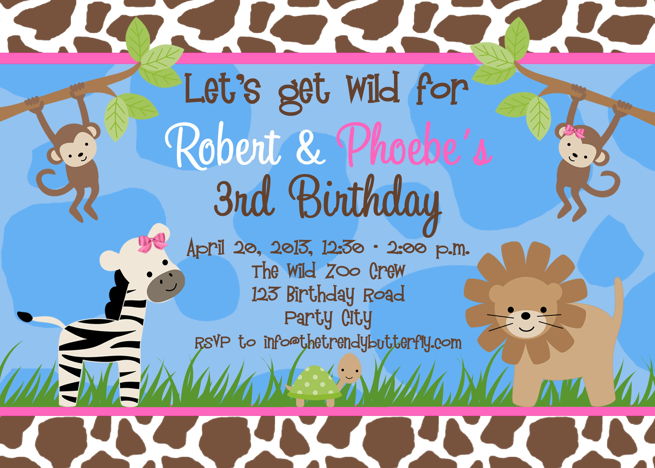 Best ideas about Birthday Party Invitations Free . Save or Pin Free Birthday Party Invitation Templates Now.