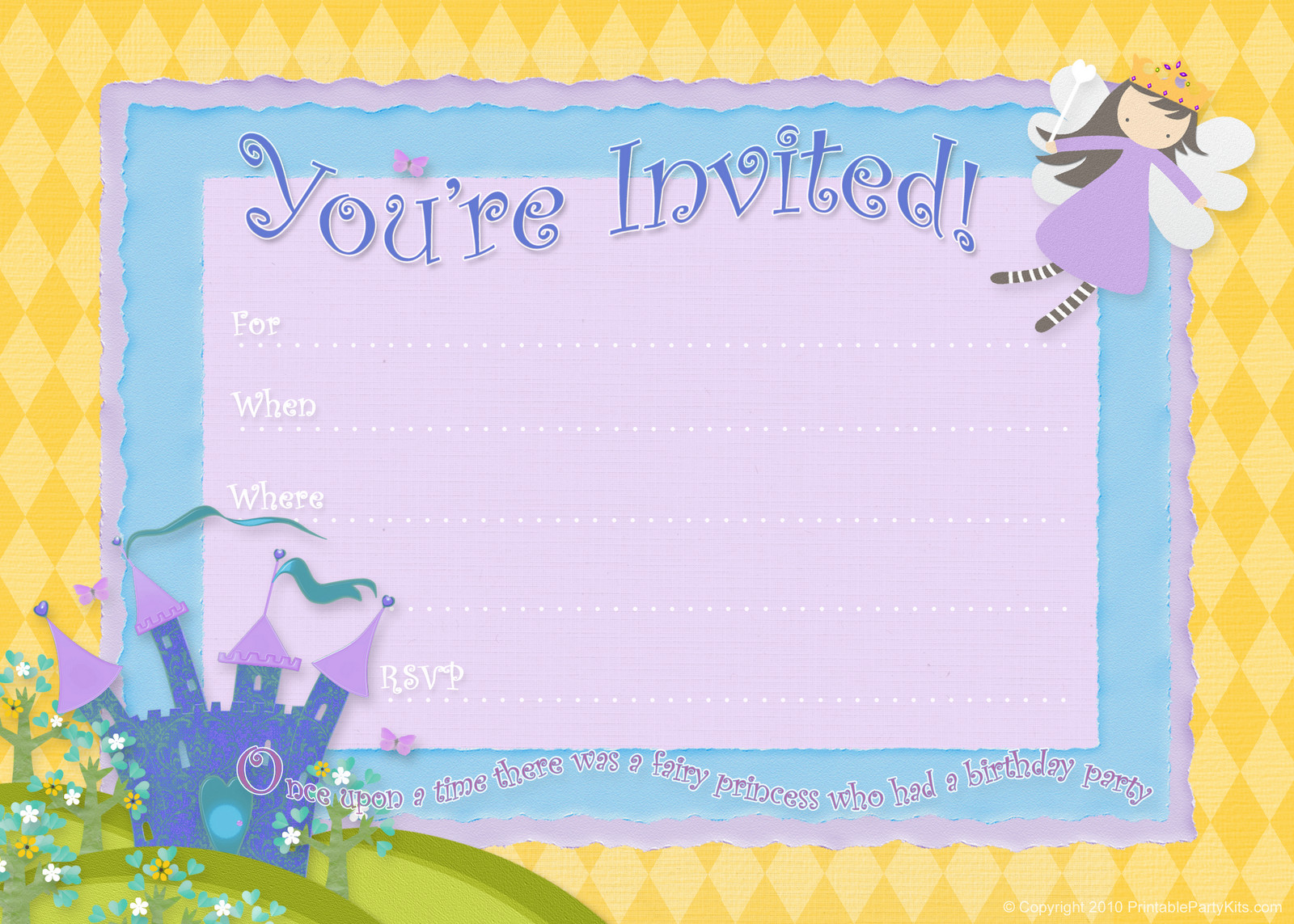 Best ideas about Birthday Party Invitations Free . Save or Pin Free Birthday Party Invitations – Bagvania FREE Printable Now.