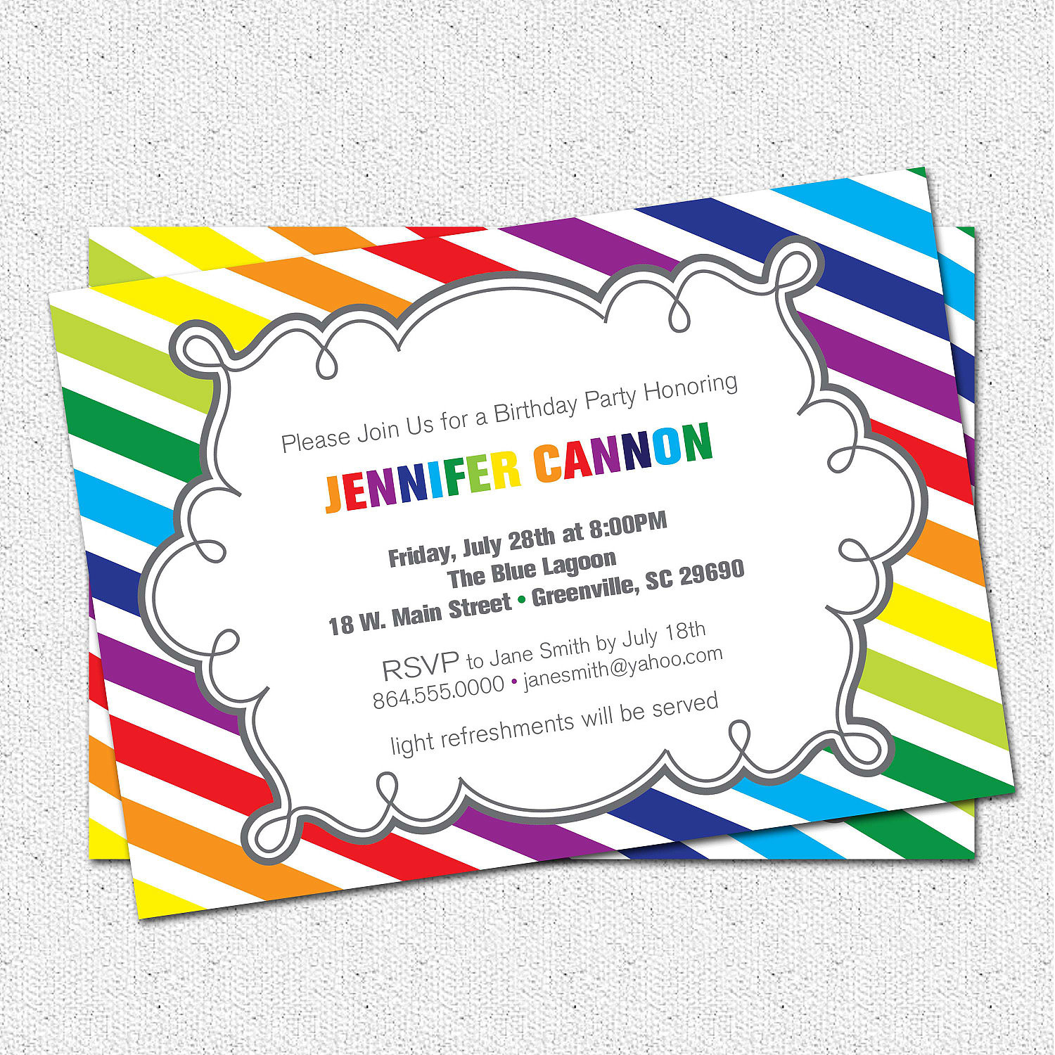 Best ideas about Birthday Party Invitations Free . Save or Pin Birthday Invitation Templates free printable birthday Now.