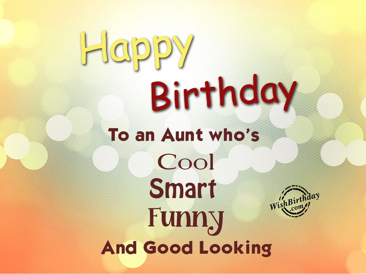 Birthday Quotes For Aunt  Birthday Wishes For Aunt Birthday