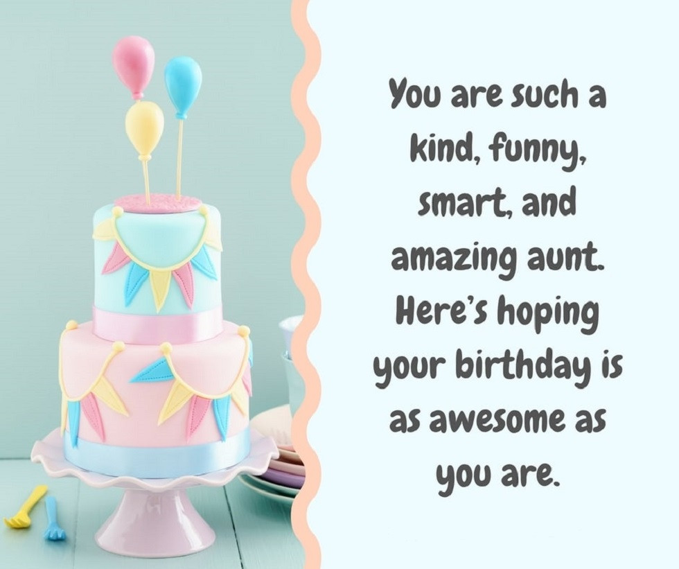 Birthday Quotes For Aunt  Top 40 Birthday Wishes For Aunt Find Best Birthday