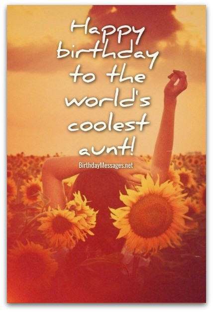 Birthday Quotes For Aunt  Aunt Birthday Wishes Original Birthday Messages for Aunts