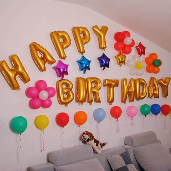Best ideas about Birthday Wall Decorations . Save or Pin The gallery for Hall Decorations With Balloons Now.