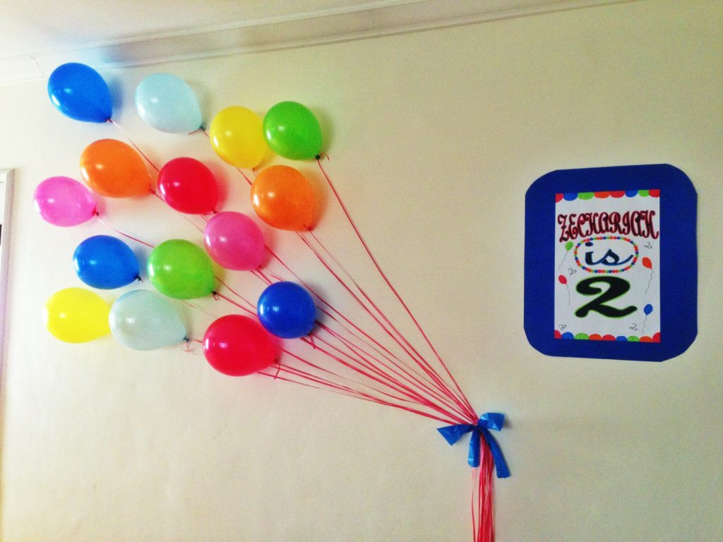Best ideas about Birthday Wall Decorations . Save or Pin Balloon Wall Decor Now.
