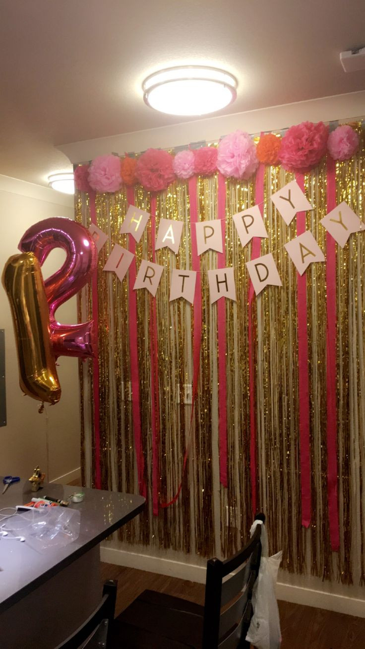 Best ideas about Birthday Wall Decorations . Save or Pin 25 best ideas about 21st Birthday Decorations on Now.