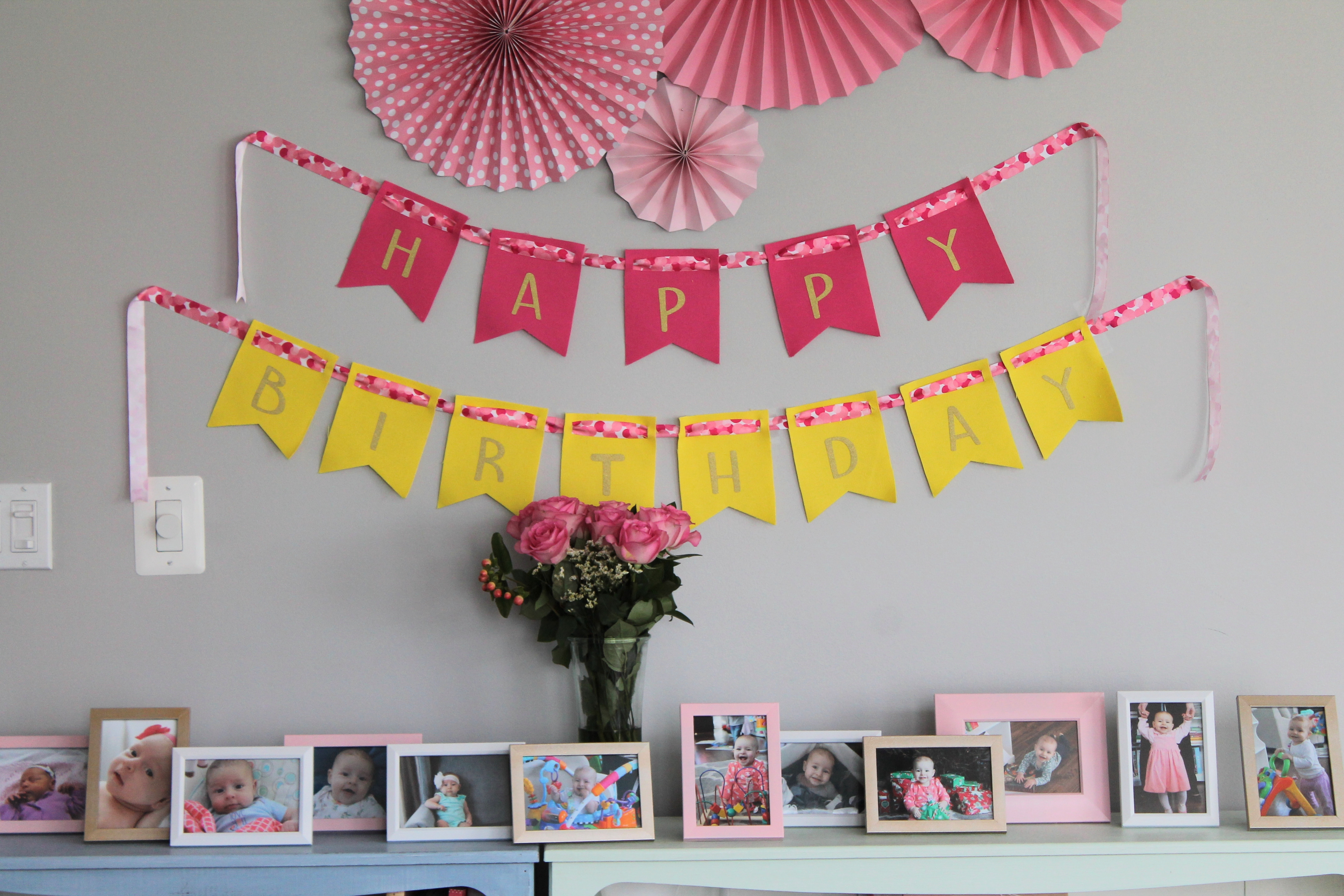 Best ideas about Birthday Wall Decorations . Save or Pin First Birthday Bubble Bash Now.