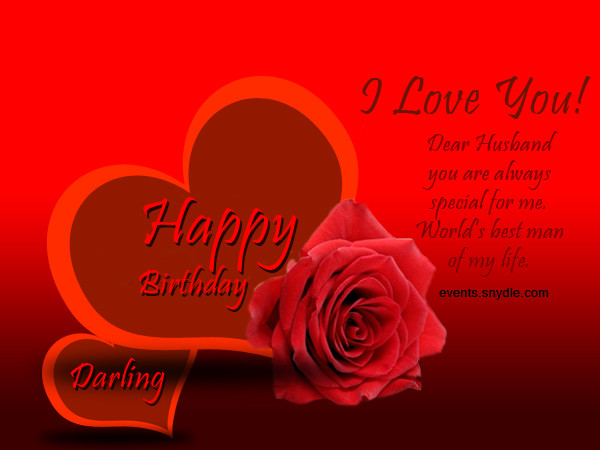 Birthday Wish For Husband  Birthday wishes for husband Greetings and Messages
