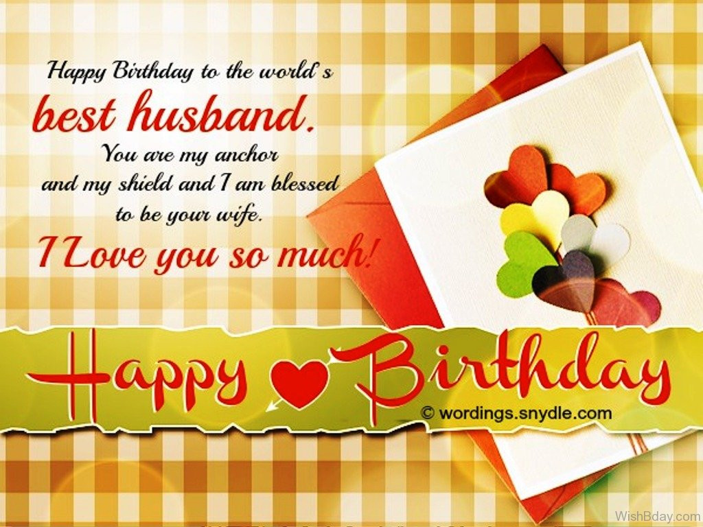 Birthday Wish For Husband  53 Birthday Wishes For Husband