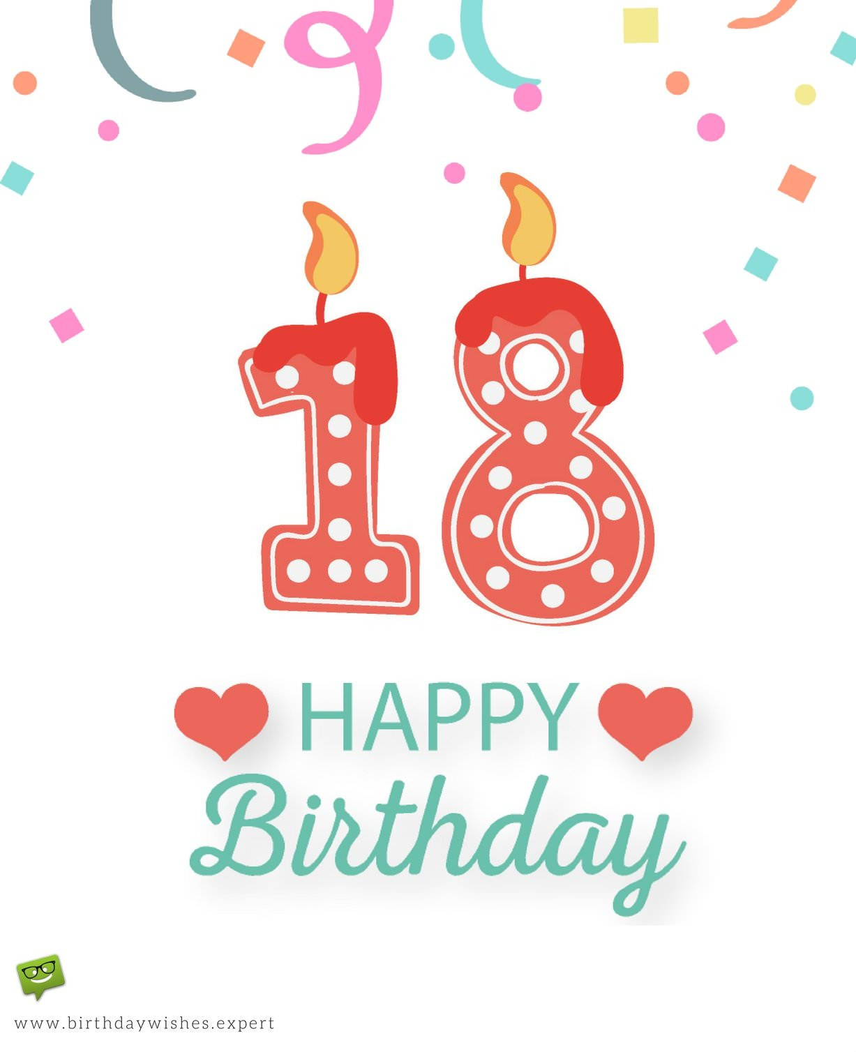 Best ideas about Birthday Wishes For 18 Year Old . Save or Pin 18th Birthday Wishes Now.