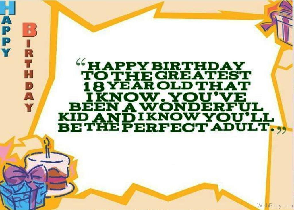Best ideas about Birthday Wishes For 18 Year Old . Save or Pin 25 18th Birthday Wishes Now.