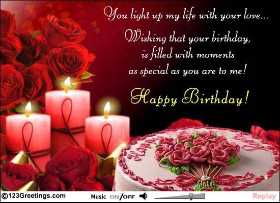 Best ideas about Birthday Wishes For Him . Save or Pin birthday wishes for lover birthday wishes for lover quotes Now.