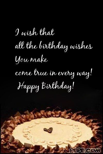 Best ideas about Birthday Wishes For Him . Save or Pin Birthday Wishes Quotes For Him QuotesGram Now.