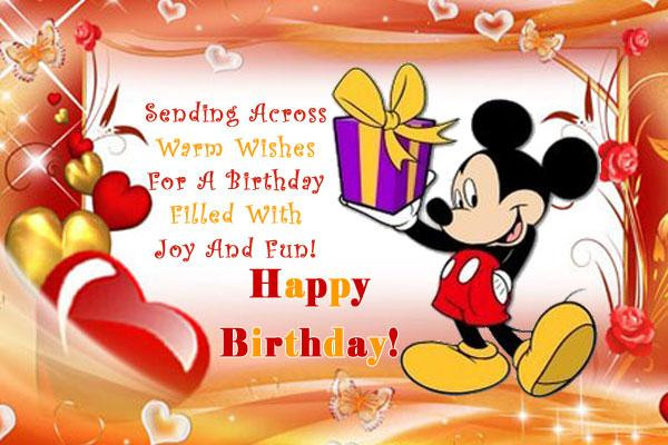 Best ideas about Birthday Wishes For Him . Save or Pin Send Free ECard Warm Wishes For Birthday from Pak101 Now.