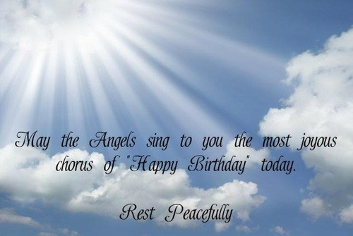 Birthday Wishes In Heaven  BIRTHDAY QUOTES FOR HUSBAND IN HEAVEN image quotes at