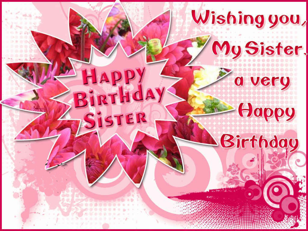 Best ideas about Birthday Wishes To A Sister . Save or Pin Best happy birthday quotes for sister – StudentsChillOut Now.