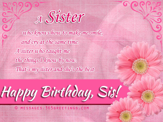 Best ideas about Birthday Wishes To A Sister . Save or Pin Birthday wishes For Sister that warm the heart Now.