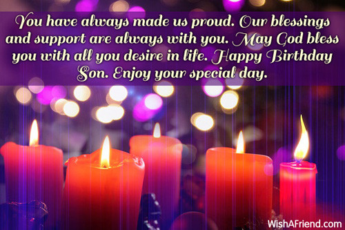 Birthday Wishes To A Son  Happy 20th Birthday Son Quotes QuotesGram