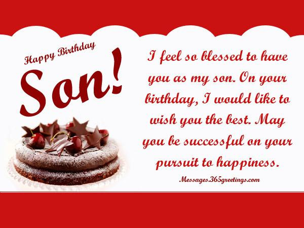 Birthday Wishes To A Son  Birthday Wishes for Son 365greetings