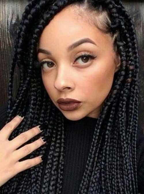 Black Braids Hairstyle  20 Braids Hairstyles for Black Women