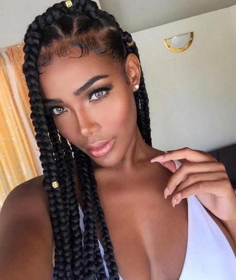 Black Braids Hairstyle  Black braids hairstyles 2018