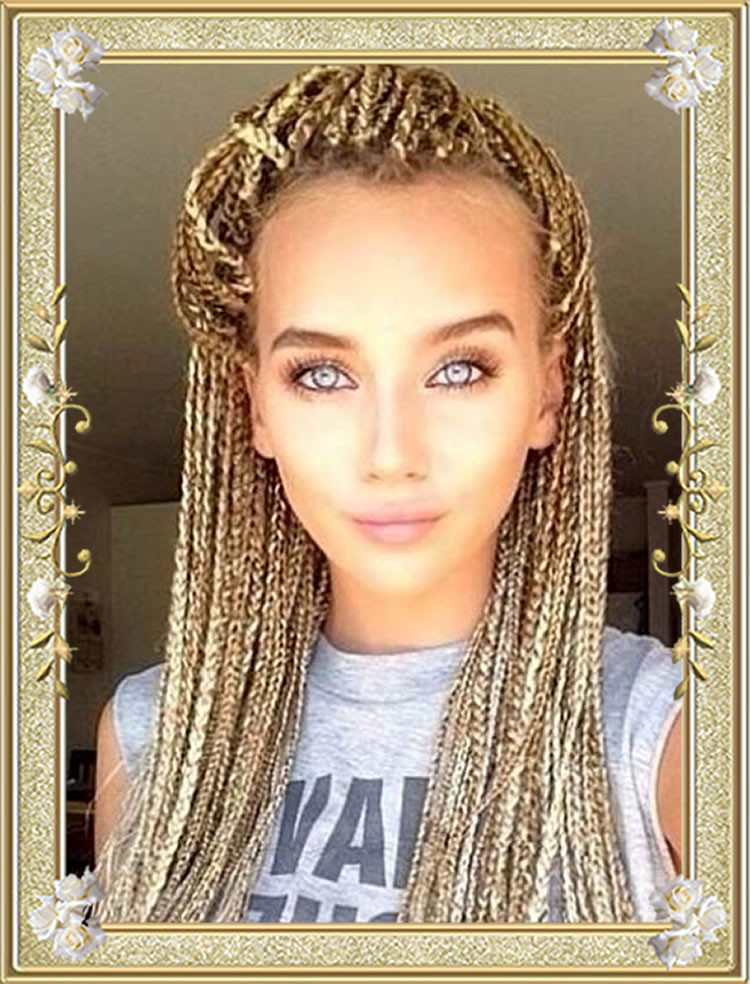 Black Braids Hairstyle  60 Delectable Box Braids Hairstyles for Black Women