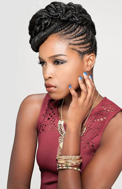 Black Braids Hairstyle  55 Superb Black Braided Hairstyles That Allure Your Look