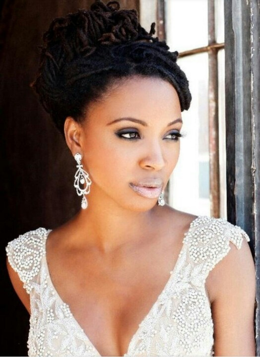 Best ideas about Black Bride Hairstyles . Save or Pin 2014 Wedding Hairstyles For Black and African American Now.