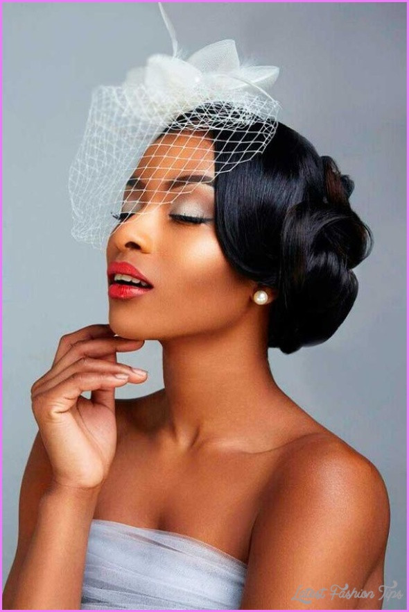 Best ideas about Black Bride Hairstyles . Save or Pin Wedding Hairstyles For African American Women Now.