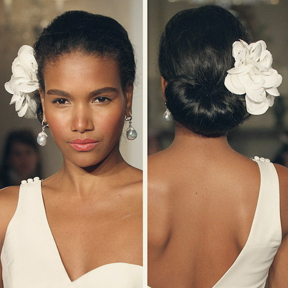 Black Bridesmaids Hairstyles  6 Fabulous Black Women Wedding Hairstyles in Fall 2013
