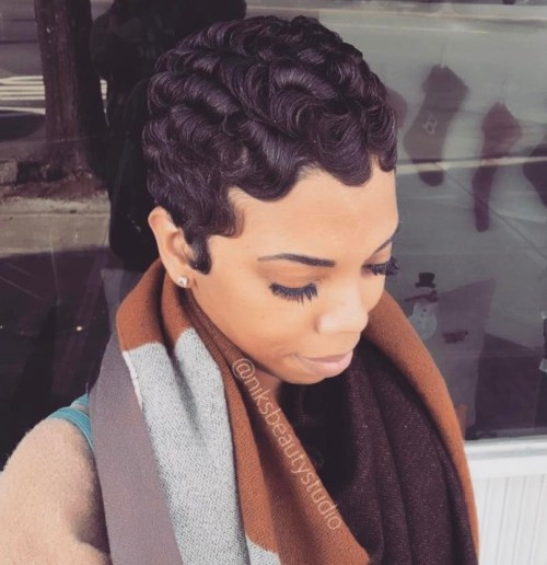 Best ideas about Black Hair Finger Waves Hairstyles . Save or Pin Finger Waves You Will Want to Copy 13 Flawless Styles Now.