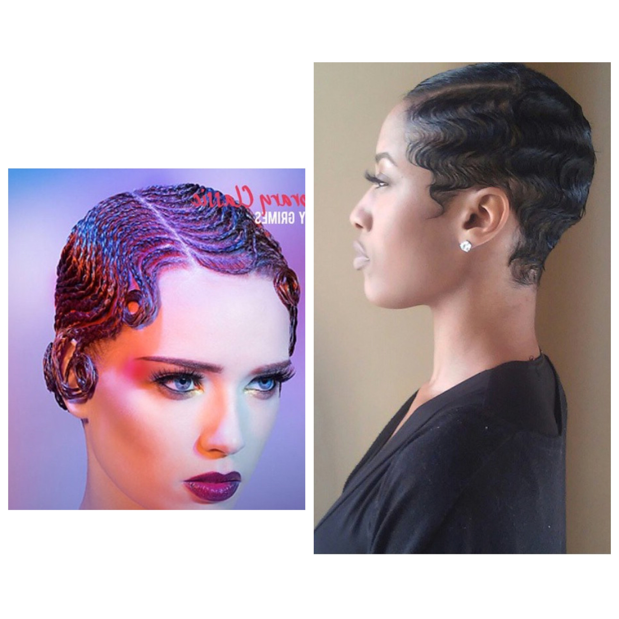 Best ideas about Black Hair Finger Waves Hairstyles . Save or Pin Black Finger Waves Hairstyles Now.